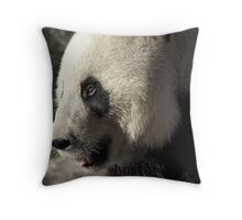Wang Wang the Panda Bear.... Throw Pillow