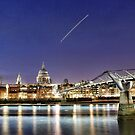 St Pauls and the Thames, London by Guy Carpenter