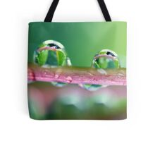 Drops of Green Tote Bag