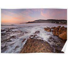 Blackmans Bay Rocks at Sunrise #5 Poster