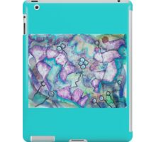 Evolution Mixed Media Collage  iPad Case/Skin