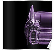 Classic Car (purple) Poster
