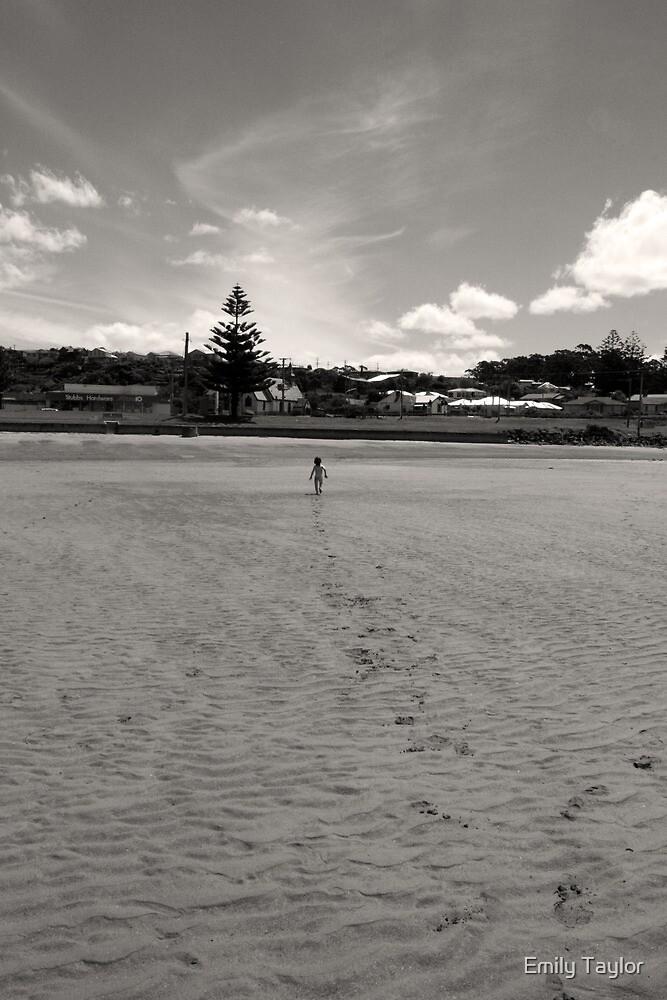 Run Baby Run - Penguin Tasmania by Emily Taylor