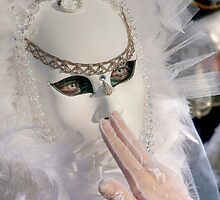 Venice - Carnival Mask 2011....02 - Off White by paolo1955