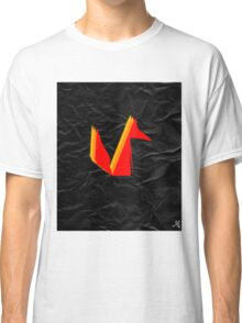 Crumpled Fox Classic T-Shirt