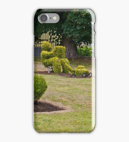 Topiary, Railton, Tasmania, Australia (panorama) iPhone Case/Skin