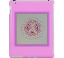 Breast Cancer Ribbon Mandala iPad Case/Skin
