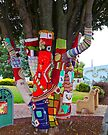 Tree in Fair Isle by Margaret  Hyde