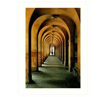 manchester arches.. Art Print