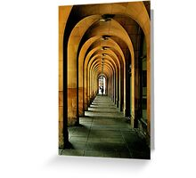 manchester arches.. Greeting Card