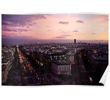 Les Champs-Elysées Poster