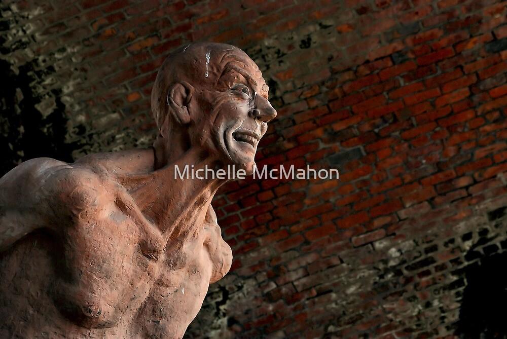Archimedes sculpture by Michelle McMahon