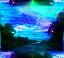 Vaporwave-Spectrum Road by NeonOf1986