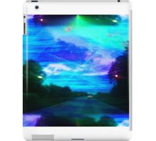 Vaporwave-Spectrum Road iPad Case/Skin