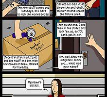 Unlikely Positive Outlook - First Comic by Antonio Lemos III