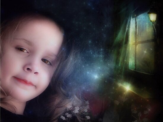 Portrait In The Magic Room by Shelly Harris