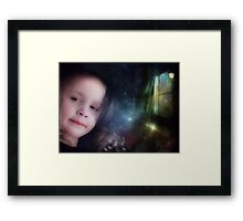 Portrait In The Magic Room Framed Print