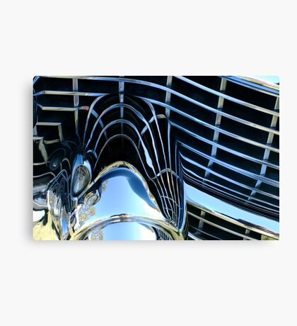 Chrome, baby! Canvas Print
