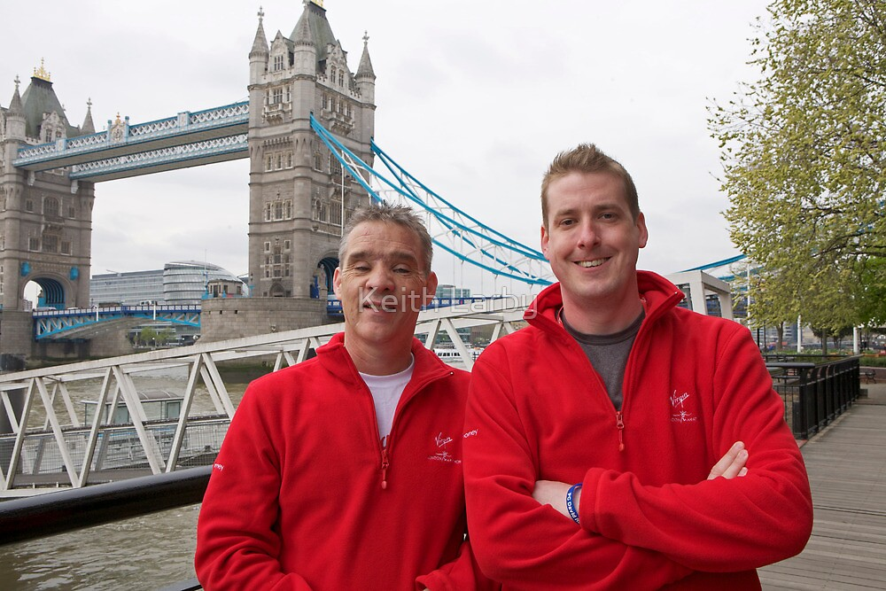 Pc David Rathband & Pc Gareth Rees by Keith Larby