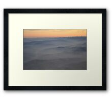 Flying.... Framed Print