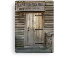Welcome to the Mill Canvas Print