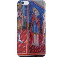Religious Art,  Great Church of the Monastery, Sinaia, Romania iPhone Case/Skin