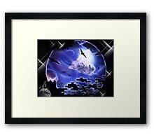 ORDINARY WORLD Framed Print