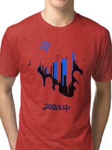 Deep City Blue Tri-blend T-Shirt