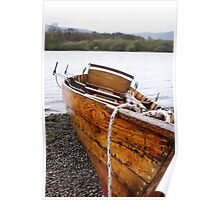 vera - rowing boat Keswick Poster