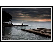 Morning Moodscape - Opatija Croatia Photographic Print