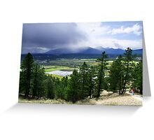 Kootenay Valley and Wetlands Greeting Card