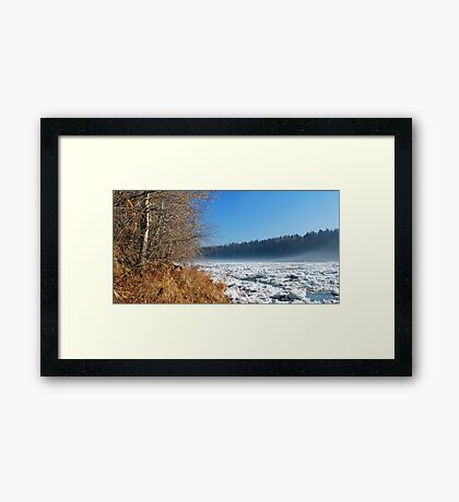 Northern River - Spring Framed Print