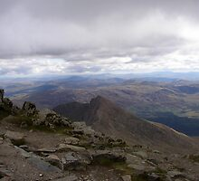 View from Snowdon by tamedlight