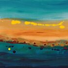 Sunset On The Ocean by Melissa  Wallace