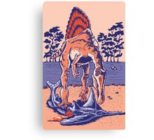 Spinosaurus the Hunter Canvas Print