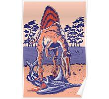 Spinosaurus the Hunter Poster