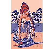 Spinosaurus the Hunter Photographic Print