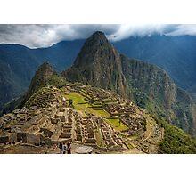 Machu Picchu, Classic View Photographic Print