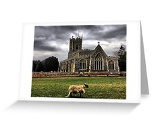 Banished From The Flock Greeting Card