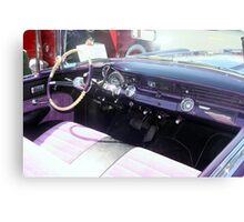 "1956 Pontiac Star Chief"" Canvas Print"