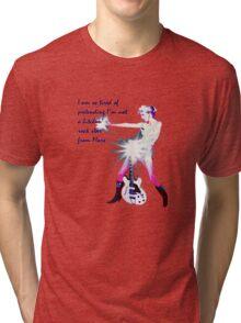 Bitchin' Rock Star From Mars tee Tri-blend T-Shirt