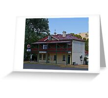 Beehive Hotel, Coolac, New South Wales, Australia Greeting Card