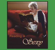 Reading Is Sexy tee by Margaret Bryant