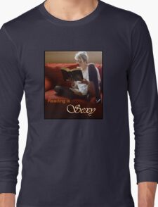 Reading Is Sexy tee Long Sleeve T-Shirt