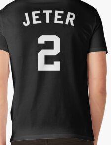 Derek Jeter Mens V-Neck T-Shirt