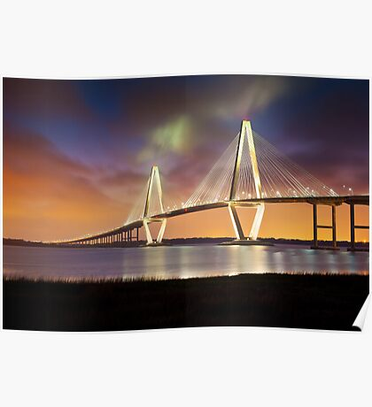 Arthur Ravenel Jr. Bridge - Charleston, SC Poster
