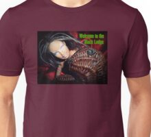 Marbie And Wicker Sqrl At The Black Lodge tee Unisex T-Shirt