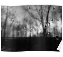 Grey, rainy Saturday Poster