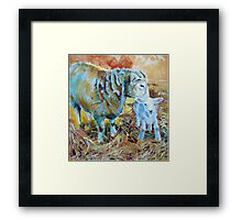 Ready Steady Framed Print