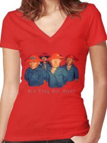 Devo Hugo tee V.1 Women's Fitted V-Neck T-Shirt
